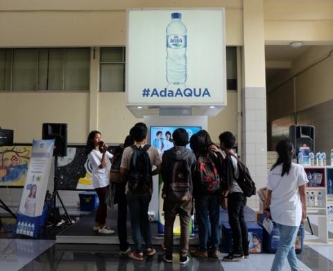 Danone AdaAqua Campus Activation Mercubuana