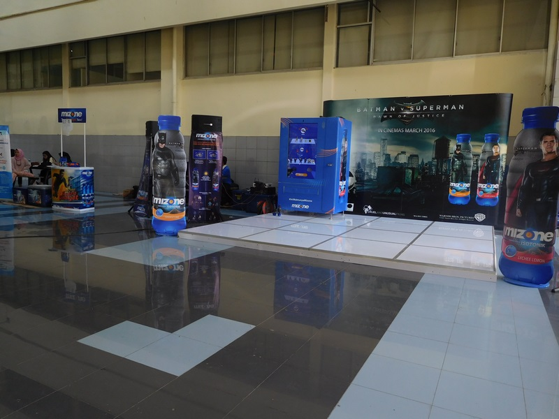 Danone Mizone Campus Activation UNJ