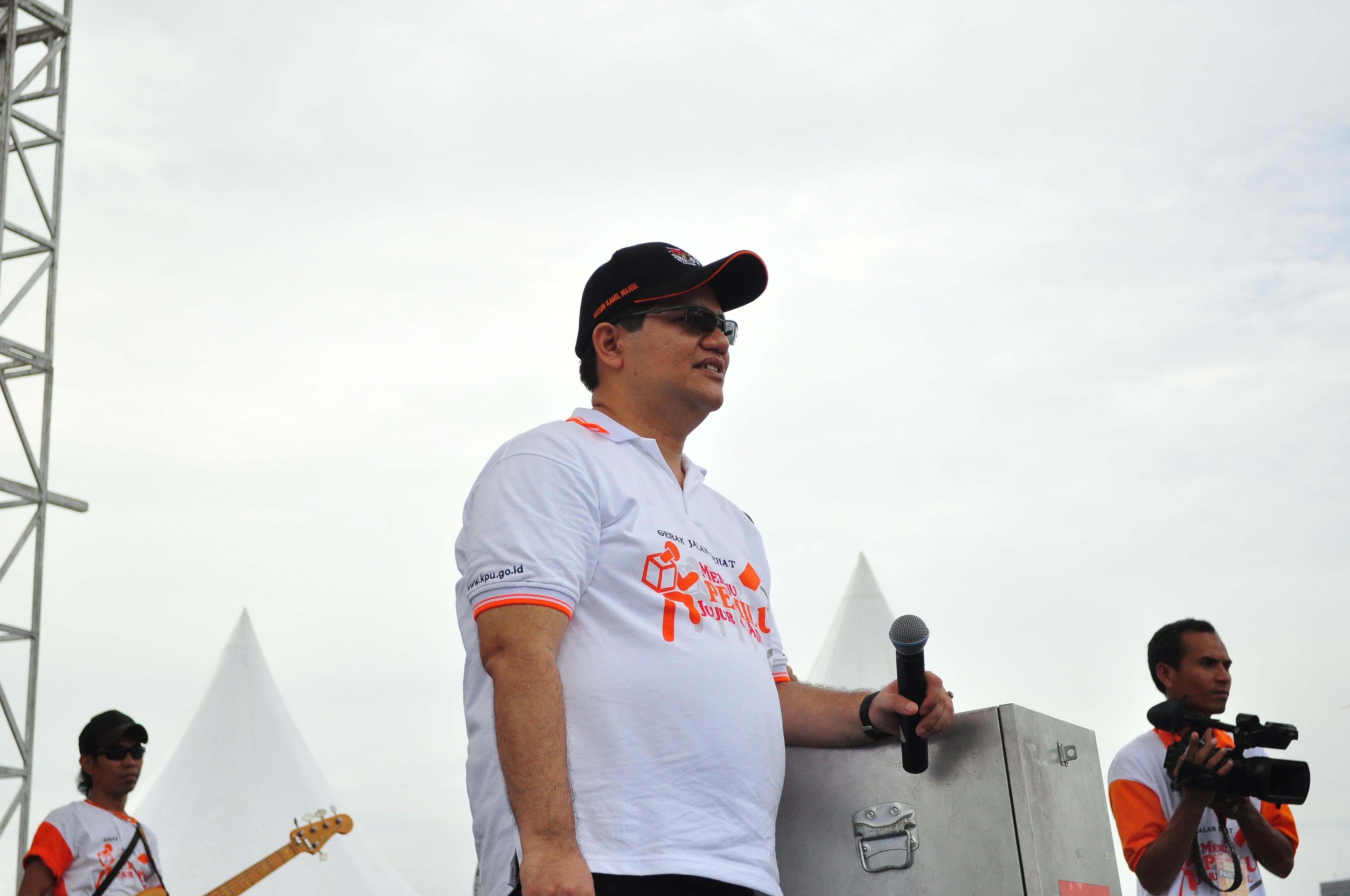 KPU Jalan Sehat – April 2013
